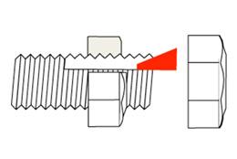 HLN ハードロックナットはなぜゆるまないか