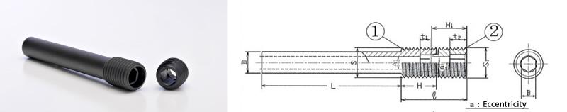 Pin hollow type